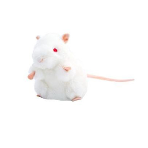 Giant Microbes Labmuis wit
