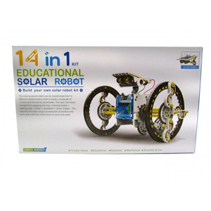 Educational Solar Robot 14 in 1 Kit