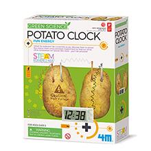 Maak een aardappelklok
