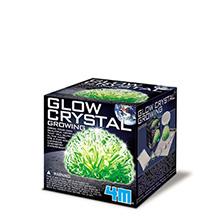 Groei je eigen kristal (Glow in the dark)